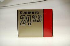 Canon Lens FD 24mm 1:2,8 Objektiv OVP