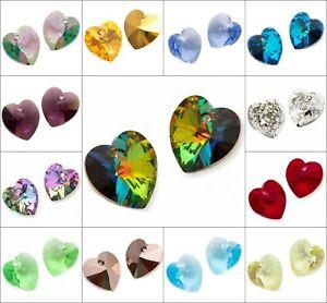 CHOOSE COLOR! 1 pc Xilion Heart 6228 14.4x14 mm, Swarovski, Austria