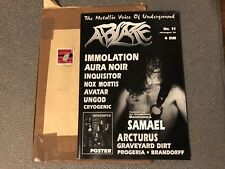Ablaze Magazine #11 '96 / Immolation, Aura Noir, Inquisitor, Samael, Behemoth