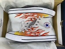 Adult Unisex Converse Chuck Taylor All Star Canvas Archive Flame Print - HI
