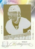 Ville Leino 09-10 UD The Cup RC Rookie Masterpieces Cyan Press Plate 1/1