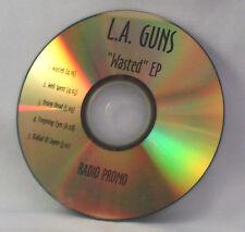 MEGA RARE!  RADIO PROMO CD,  L.A. Guns – Wasted (EP, 5 Tracks) -FREE INSURANCE-