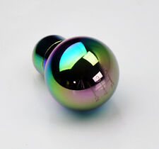 JDM Neo Chrome 5 Speed Round Style Gear Shift Knob FITS Subaru MT Manual
