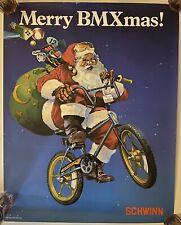 4 Old School Bmx Team Schwinn Christmas + Accessories Posters!