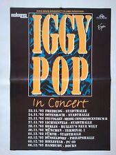 IGGY POP  1993  TOUR  + orig. Concert Poster - Konzert Plakat TOP 145