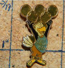 "1988 OLYMPICS FIRST AMERICAN BANK SPONSOR 1 1/8"" PIN"