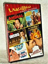 Mr Deeds/Animal/Eight Crazy Nights/Joe Dirt/Master Of Disguise (DVD, 3-Disc) NE