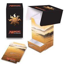 New Ultra Pro Mana Five 5 Lands Deck Box 86531 -MTG- Unhinged Plains Art-Magic
