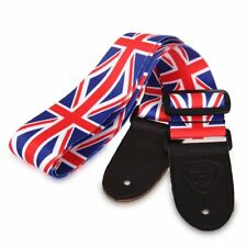 Union Jack British Flag Great Britain Guitar Strap Punk Rock US Seller New