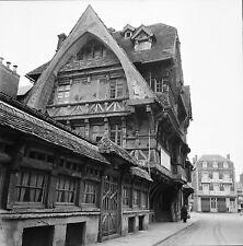 ÉTRETAT c. 1950 - Vielle Maison  Seine Maritime - Négatif 6 x 6 - N6 NOR15