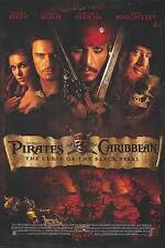Pirates of the Caribbean Curse of the Black Pearl  Dbl Sided Orig Movie Poster