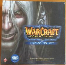 Warcraft: The Board Game Expansion Set -Fantasy Flight Games 2004 blister sealed