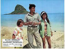 ELVIS PRESLEY HAWAIIAN STYLE PARADIS HAWAIEN 1966 PHOTO VINTAGE LOBBY CARD N°2