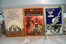lot vtg old Sci-Fi TOTAL ECLIPSE TO DIE IN ITALBAR THE 1973 ANNUAL WORLD'S BEST