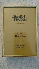 Vintage solid brass picture frame rectangle korea