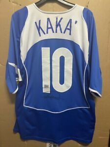 Signed Kaka Brazil National team shirt with Coa