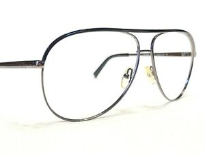 Armani Exchange AX2002 6006/11 Men's Gunmetal Aviator Rx Eyeglasses Frames 61/12