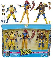 "Marvel Legends 6"" X-Men Wolverine, Jean Grey & Cyclops 3 Pack - (Love Triangle)"