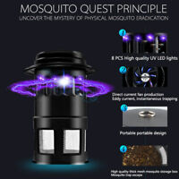 [UPGRADED] US STOCK 4W UV LED Mosquito Killer Insect Killer Bug Zapper with Fan