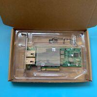 Supermicro AOC-STG-i2T Dual Port 10GbE Ethernet PCI-E Adapter NIC Intel X540-AT2