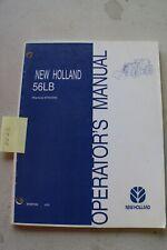 New Holland 56lb Loader Operators Manual
