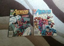 Avengers West Coast #62 & #74 marvel comics (2)