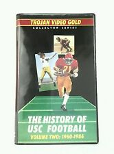 The History of USC Football Volume  Two- 1960-1986 Collector Series VHS Video