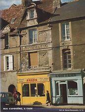 ART DE BASSE-NORMANDIE N° 74 RUE CAPONIERE CAEN 1978 J.POUGHEOL