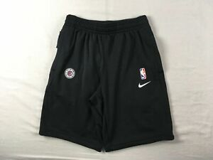 Los Angeles Clippers Nike Shorts Men's Black Dri-Fit NEW Multiple Sizes