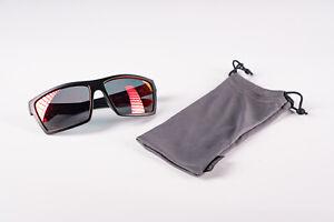 UVEX LGL 29 Black Mat Mirror Red Lenses Sports Glasses Goggles Sunglasses NIB