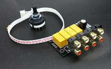 4 Way Input Source Selector For Audio Preamp Amplifier DIY Kit / 4 In 1 Out