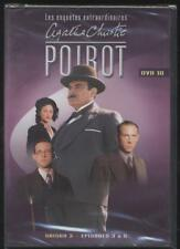NEUF POIROT Agatha Christie DVD 10 saison 3 3 EPISODES SERIE TV SOUS BLISTER