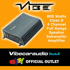 Vibe Multi-Channel Vehicle Audio Amplifiers
