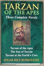 TARZAN OF THE APES ~ 3 COMPLETE NOVELS ~ EDGAR RICE BURROUGHS ~ HC