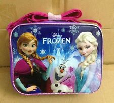 UNISEX KIDS BOYS GIRLS DISNEY FROZEN ELSA,ANNA,&OLAF LUNCH BAG BOX-Brand new!