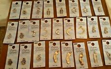 LOT OF 25 Halcraft Charm Gallery Pendant charms moon paw pineapple