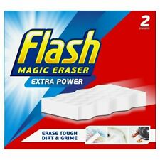Flash Magic Eraser Extra Power Sponge For household Cleaning - Pack of 2