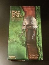 Sideshow Weta Orc Iron Cap 1/4 Lord of the Rings LotR Hobbit Rare Helmet