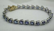Beautiful  18.20CT. Tanzanite Bracelet With Valuation PaperWork For $11000.00