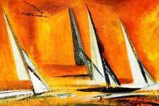 Modern Art - Sailing Journey 60x90 cm Oil Painting 59027