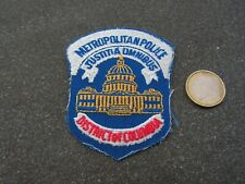 PATCH POLICE ECUSSON COLLECTION  USA   police colombia