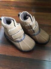 Boys Gymboree Duck Boots - Size 5 - Camel Color, Velcro
