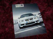 Catalogue / Brochure BMW M3 Berline & Coupé 2007 //