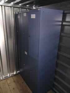 Schließfach,Wertfach,Garderobenschrank,Blechschrank,Fächerschrank Spind185x33x50