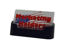 Black Gift Card Display Business Card Holder Counter top Pocket Wholesale Prices