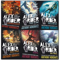 Anthony Horowitz Alex Rider Series(1-6) Collection 6 Books Set Pack [PB] NEW
