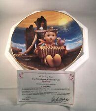 M.I. Hummel Colllectors Plate Let'S Sing Gentle Friends Danbury Mint Coa Box