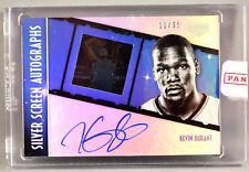 15-16 Panini Gala Kevin Durant ON CARD NBA AUTO #11/35 2015 2016 WARRIORS MVP