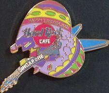 Hard Rock Cafe SINGAPORE 2001 EASTER PIN Broken EGG with GUITAR 300 - HRC #8811