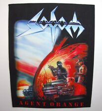 SODOM AGENT ORANGE SUBLIMATED  BACK PATCH